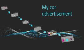 My car advertisement