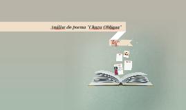 Copy of Analise do poema chuva obliqua
