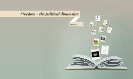 Freedom / political dimension