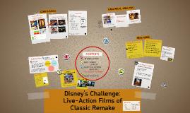 Disney's Challenge: Live-Action Remake