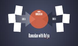 Ramadan with Ro'ya