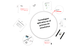 Tecnologías aplicadas en el proceso de enseñanza