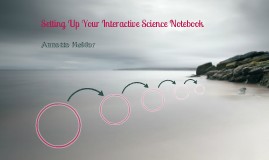 Setting Up Your Interactive Science Notebook