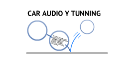 CAR AUDIO Y TUNNING