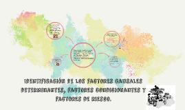 Identificación de los factores causales determinantes, facto