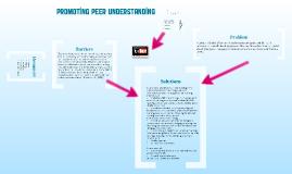Copy of Promoting Peer Understanding