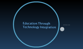 Copy of EDUCATION THROUGH TECHNOLOGY INTEGRATION