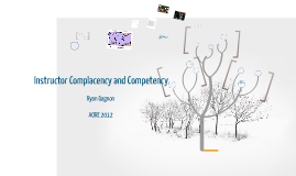 Instructor Complacency and Competence