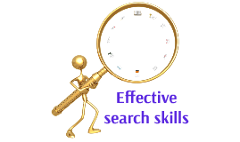 Effective search skills