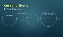 Copie de Current Event