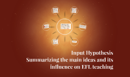 Input Hypothesis