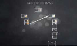 TALLER DE LIDERAZGO