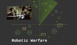 Wright Robotics in Warfare