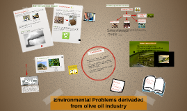 Environmental Problems derivaded from olive oil industry