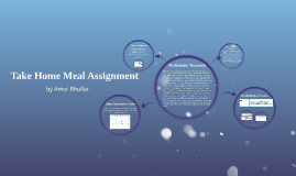 Take Home Meal Assignment