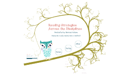 Reading Strategies Across the Disciplines