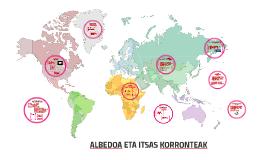 ALBEDOA ETA ITSAS KORRONTEAK