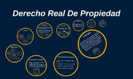 Copy of Derecho Real De Propiedad