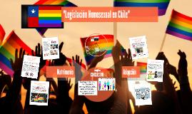 Legislación Homosexual en Chile