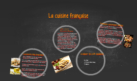Copy of French Cuisine