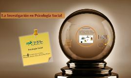 Investigación en Psicología Social ECP
