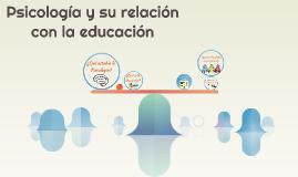 Psicología y su relación con la educación
