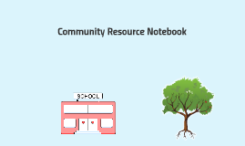 Community Resource Notebook Project