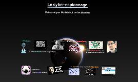 Le cyber-espionnage