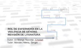 Copy of ROL DE ENFERMERÍA EN LA VIOLENCIA DE GÉNERO.