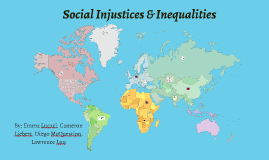 Social Injustices & Inequalities