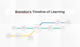 Brendon's Timeline of Learning