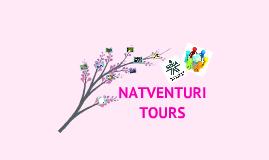 """Portafolio de servicios """"Natventuri tours"""""""