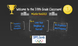 Welcome to the 7/8th Grade Classroom!