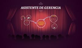 EL ROL DE LA ASISTENCIA DE GERENCIA