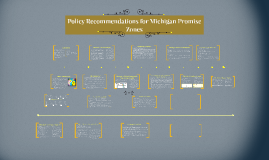 Policy Reccommendations for Michigan Promise Zones