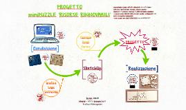 Progetto miniPuzzle 'Risorse rinnovabili'