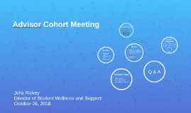 Copy of Advisor Cohort Meeting