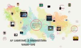 Copy of AP Language & Composition:  Warm-ups