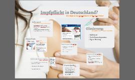 Impfpflicht in Deutschland?