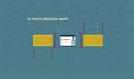 Le risorse educative aperte
