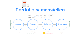 Criteria projectportfolio