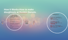 How It Works-How to make doughnuts at Dunkin Donuts.