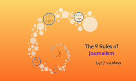 The 9 Rules of Journalism