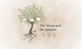 the moose and the sparow Short stories that are perfect for a suspense and mystery unit includes activities, writing and reading exercises and quizzes for: the moose and the sparrow the elevator the fog horn the.