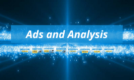 Ads and Analysis