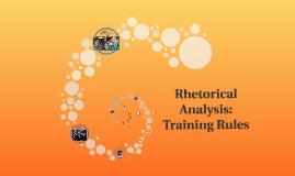 Rhetorical Analysis: