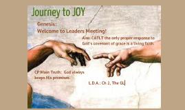 Genesis: Welcome to Leaders Meeting!