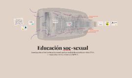 Educación soc-sexual