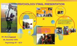 Copy of PSYCHOLOGY FINAL PRESENTATION