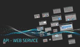 API - WEB SERVICE